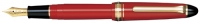 11-1201-230 SAILOR 1911S Color Fountain Pen Red w/Gold accents 14K Gold Fine-Nib [E]
