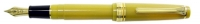 11-1225-370 SAILOR Professional Gear Lame Yellow Slim Fountain Pen 14K Gold nib 24K Gold finish Medium Fine Nib *