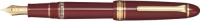 11-3924-632 SAILOR 1911 Realo Fountain Pen Maroon w/Gold accents 21K Gold with box Broad Nib [E]