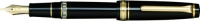 11-3926-220 SAILOR Professional Gear Realo Fountain Pen Black w/Gold accents 21K Gold with box Fine-Nib