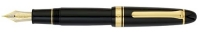 11-6001-420 SAILOR King of Pens Black ST Fountain Pen Bicolor 21K Gold nib w/24K Gold/Rhodium plating Medium-Nib [E]