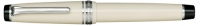 11-9280-217 SAILOR Professional Gear Color Fountain Pen Ivory w/Silver accents 21K Gold with Rhodium plating Fine Nib