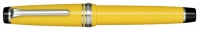 11-9280-470 SAILOR Professional Gear Color Fountain Pen Yellow w/Silver accents 21K Gold with Rhodium plating Medium Nib