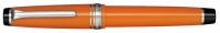 11-9280-473 SAILOR Professional Gear Color Fountain Pen Orange w/Silver accents 21K Gold with Rhodium plating Medium Nib
