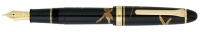 11-9517-620 SAILOR MAKI-E Tombo Dragonfly Fountain Pen 21K Gold Broad Nib