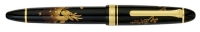 11-9518-620 SAILOR MAKI-E Shika Deer Fountain Pen 21K Gold Broad Nib