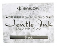 13-0402-120 SAILOR Box-12 Jentle Black Ink Cartridges