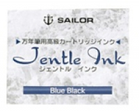 13-0402-144 SAILOR Box-12 Jentle Blue-Black Ink Cartridges