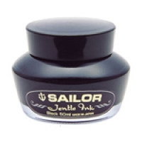 13-1000-220 SAILOR Bottle Jentle Black Ink with reservoir