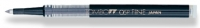 B4 55695 Tombow 05P Fine BLACK Rollerball Refill