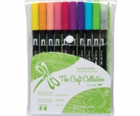 G0 56156 Tombow Set/ABT-10 JELLY BEAN Brush Pens - 10 pens in case