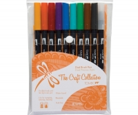 G0 56158 Tombow Set/ABT-10 JEWEL Brush Pens - 10 pens in case