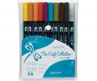 G0 56159 Tombow Set/ABT-10 GROOVY Brush Pens - 10 pens in case