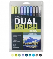 G0 56169 Tombow Set/ABT-10 LANDSCAPE Brush Pens - 10 pens in case