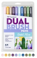 G0 56197 Box/24 Tombow Set/ABT-10 Limited Edition DESERT FLORA Brush Pens - $13.88 ea - 10 pens in case