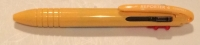 AF 63665 Tombow Reporter SMART Banana Yellow COMPACT Four Color Ballpoint Pen