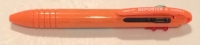 AF 63666 Tombow Reporter SMART Orange Cream COMPACT Four Color Ballpoint Pen