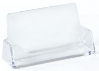 TD 75001 PENWA.COM 10-Pack Single Pocket Acrylic Business Card Holder for Tabletop - $3.40 ea - Fits 49 Cards - Clear - FREE SHIPPING -