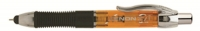 V5 30494 Itoya XS-300-OR XENON Amber Orange iPad Stylus Retractable Pen