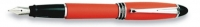 AU 00102 AURORA B10/O-M IPSILON SATIN FOUNTAIN PEN ORANGE