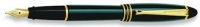 DS 00113 AURORA B11/V-M GREEN FOUNTAIN PEN