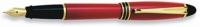 DS 01112 AURORA B11/R-F RED FOUNTAIN PEN Fine Nib