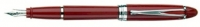 DS 01124 AURORA B12/R-F IPSILON DELUXE RED FOUNTAIN PEN 14KT GOLD NIB Fine Nib