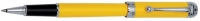 DS 07310 AURORA D73/Y TALENTUM FINESSE YELLOW CHROME TRIM ROLLERBALL PEN - Allow 3 weeks for delivery