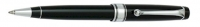 DS 09991 AURORA 998/CN BLACK Ballpoint Pen WITH CHROME PLATED TRIM