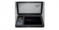 I1 44334 Fisher CS400B Card Holder Black Bullet Ballpoint Pen (No Clip)