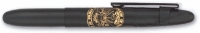 CF 84015 Fisher 400-B-CL-AR ARMY Insignia Matte Black BULLET Ballpoint w/clip [E] *