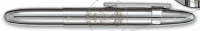 CF 84032 Fisher 400-CL-AR ARMY Insignia Chrome BULLET Ballpoint w/clip