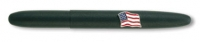 D5 84126 Fisher 600B-AF Matte Black American Flag Bullet Space Pen [E]