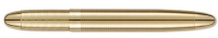 G3 84308 Fisher 400G Gold Lacquered Brass BULLET Ballpoint *