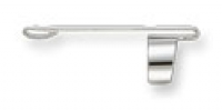 D6 CLIP1 Fisher CHCL Chrome Clip for Bullet Space Pens