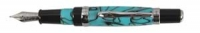 40092M MonteVerde CHARISMA TURQUOISE ACRYLIC RESIN M FOUNTAIN PEN