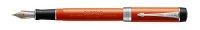 DS 1931375 Parker Duofold Classic Big Red Chrome Trim Vintage Centenial Fountain Pen F-nib Gift Box  - Now in Stock