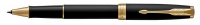 1931518 Parker Sonnet Matte Black Gold Trim Rollerball Pen Gift Box - Allow 3 days to ship