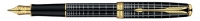 00284 Parker Sonnet Dark Grey GT Fountain Pen M-Nib [E] 1774620 S0912450 *