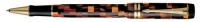 PB 70656 Parker Duofold Check Amber Rollerball Pen 70656 *