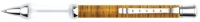 WS 76293 Sensa Woodwind Bamboo Gel Ballpoint Pen - accepts Parker Ballpoint and Gel Roller refills
