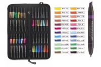 SS 00097 PRISMACOLOR BP24C Premier Double Ended Art Marker Set Soft Case 24 Count -