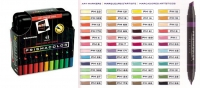 SS 00098 PRISMACOLOR BP48C Premier Double Ended Art Marker Set Soft Case 48 Count -