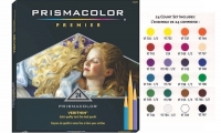 SS 02427 PRISMACOLOR Verithin Colored Pencil Set 24 Count -