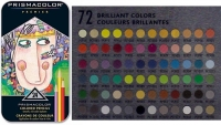 SS 03597 PRISMACOLOR 3597T Premier Soft Core Colored Pencil Set Tin Case 24 Count -