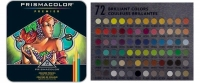 SS 03599 PRISMACOLOR 3599TN Premier Soft Core Colored Pencil Set Tin Case 72 Count -