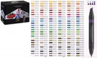 SS 03746 PRISMACOLOR 156CT Premier Double Ended Art Marker Set 156 Count -