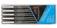 SS 14172  4-Pack PRISMACOLOR FINELINE MARKER POUCH BLACK BLUE GREEN RED 14172 - $1.73 ea -