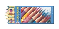 SS 20517 PRISMACOLOR 1200 Premier Col-Erase Erasable Colored Pencil Set 24 Count -