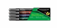 SS 75334  4-Pack PRISMACOLOR CHISEL MARKER POUCH BLACK BLUE GREEN RED 1738858 - $1.73 ea -